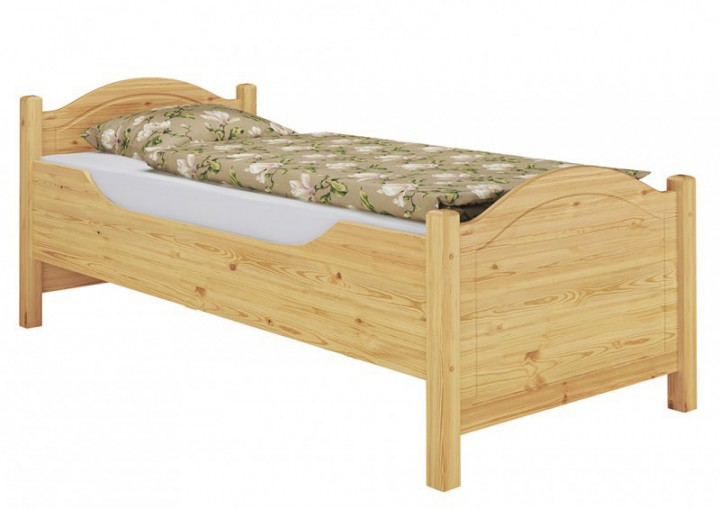 seniorenbett komforth he berl nge 90x220 massivholzbett matratze rollrost m. Black Bedroom Furniture Sets. Home Design Ideas