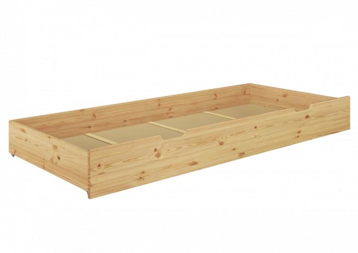 Einzelbett mit bettkasten 100x200  Seniorenbett extra hoch Bettkasten 100x200 Kiefer Holzbett ...