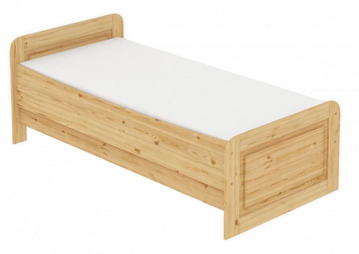 seniorenbett extra hoch 120x200 einzelbett rollrost matratze bett massivholz kiefer m. Black Bedroom Furniture Sets. Home Design Ideas