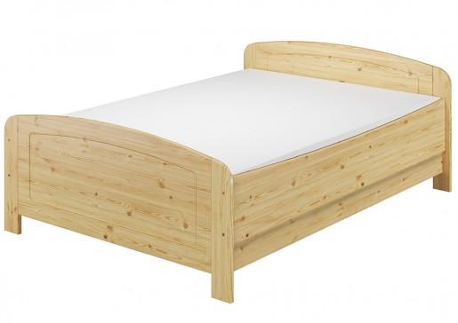 seniorenbett extra hoch 140x200 doppelbett holzbett massivholz kiefer bett mit rollrost. Black Bedroom Furniture Sets. Home Design Ideas