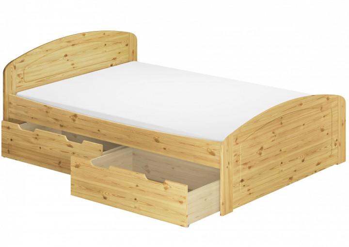 funktionsbett 140x200 doppelbett bettkasten rollrost matratze bettdecke kopfkissen mb. Black Bedroom Furniture Sets. Home Design Ideas