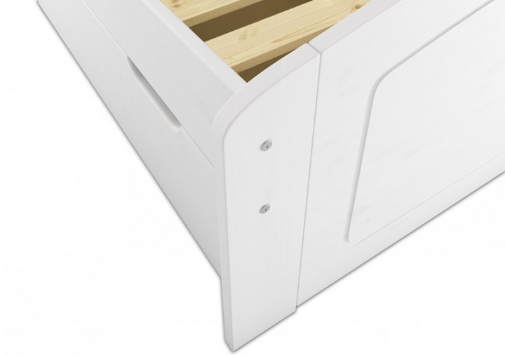 funktionsbett 140x200 doppelbett matratze rollrost. Black Bedroom Furniture Sets. Home Design Ideas