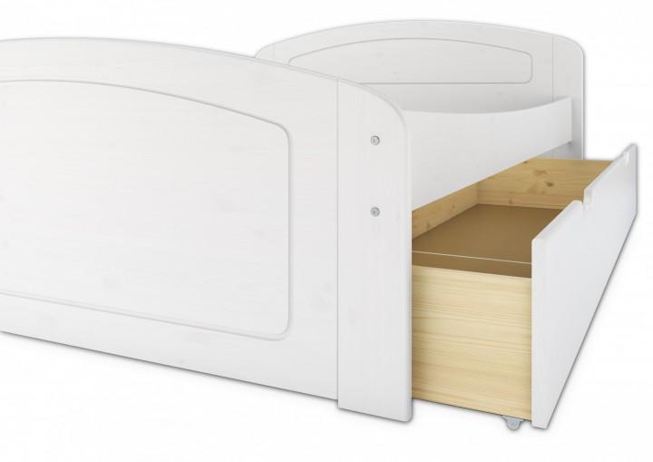 funktionsbett 140x200 doppelbett 3 stauk sten rollrost. Black Bedroom Furniture Sets. Home Design Ideas