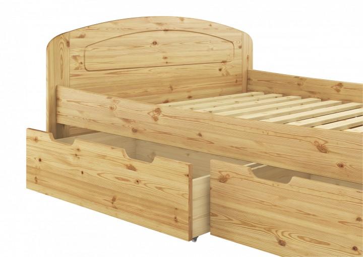 Funktionsbett doppelbett bettkasten federholzrahmen for Funktionsbett 160x200