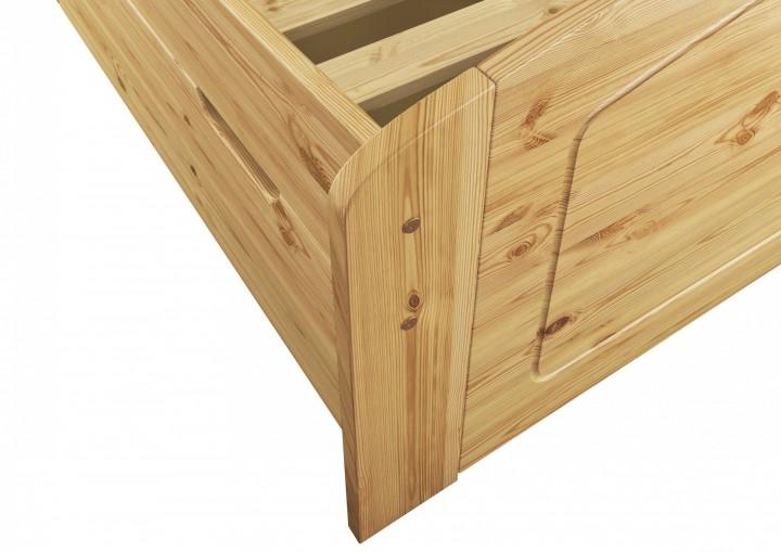 doppelbett ehebett 200x200 bettkasten lattenrost matratze seniorenbett massivholz m fv. Black Bedroom Furniture Sets. Home Design Ideas