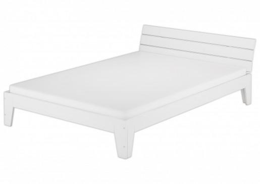holzbett mit rollrost matratze 120x200 einzelbett massivholz kiefer futon bett wei w m. Black Bedroom Furniture Sets. Home Design Ideas