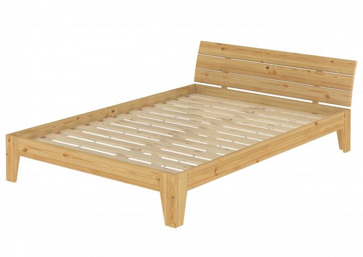 doppelbett mit rollrost 140x200 cm futonbett massivholz kiefer bettgestell holzbett. Black Bedroom Furniture Sets. Home Design Ideas