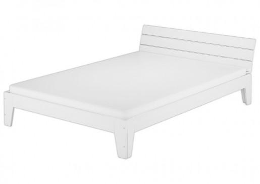 doppelbett mit rollrost matratze 140x200 futonbett. Black Bedroom Furniture Sets. Home Design Ideas