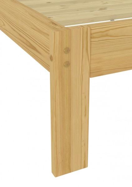 kinderbett kurzgr e futonbett kiefer massiv 90x190 einzelbett federholzrahmen fv. Black Bedroom Furniture Sets. Home Design Ideas