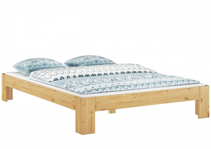 futon einzel bett 90 x 200 cm kiefer massiv mit rollrost mit matratze m. Black Bedroom Furniture Sets. Home Design Ideas
