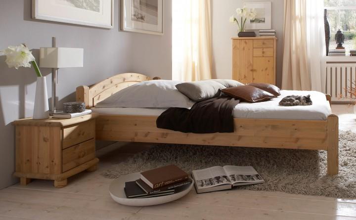 doppelbett futonbett 140x200 kiefer massiv französisches, Hause deko