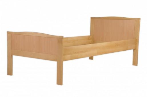 seniorenbett buche natur extra hoch 100x200 massivholz bettgestell ohne zubeh r or. Black Bedroom Furniture Sets. Home Design Ideas