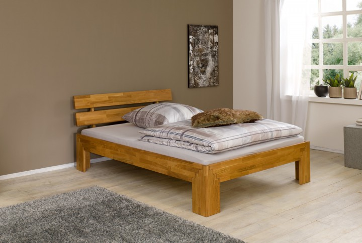 amazing bett x doppelbett massiv gelt ohne zubehr or with eiche bett affordable