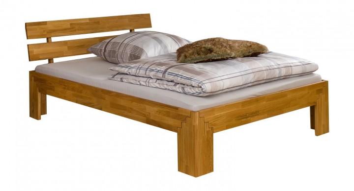 doppelbett futonbett 140x200 massivholzbett eiche ge lt. Black Bedroom Furniture Sets. Home Design Ideas