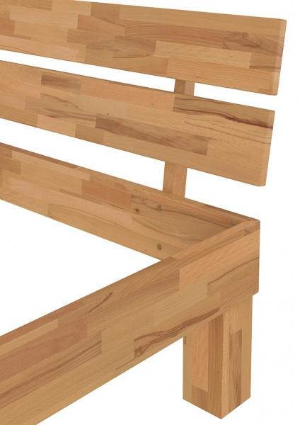 futonbett buche massiv einzelbett 90x200 jugendbett g stebett bett mit rollrost. Black Bedroom Furniture Sets. Home Design Ideas
