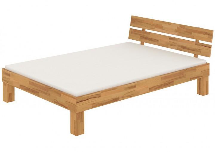 futonbett doppelbett mit berl nge 140x220 massivholzbett buche ehebett matratze m. Black Bedroom Furniture Sets. Home Design Ideas