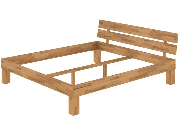 futonbett doppelbett 140x200 massivholzbett buche natur. Black Bedroom Furniture Sets. Home Design Ideas