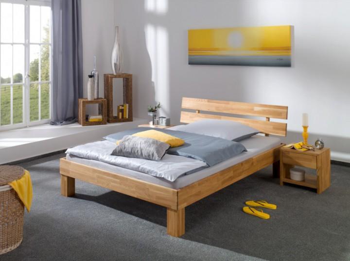 ehebett doppelbett 180x200 futonbett eichebett massiv. Black Bedroom Furniture Sets. Home Design Ideas
