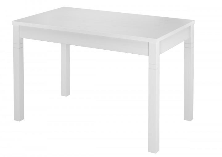 Tisch 70x120 Esstisch Massivholz Küchentisch weiß 90.70-51 B W ...