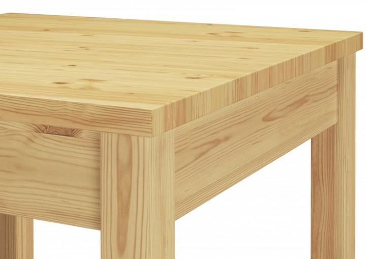 esstisch esszimmertisch k chentisch kiefer natur massivholz 75x75x75 cm essgruppen. Black Bedroom Furniture Sets. Home Design Ideas
