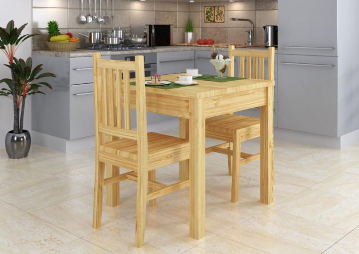 tisch mit stuhlen 9070 52 set schane essgruppe und 2 sta 1 4 hle kiefer massivholz kindertisch gunstig