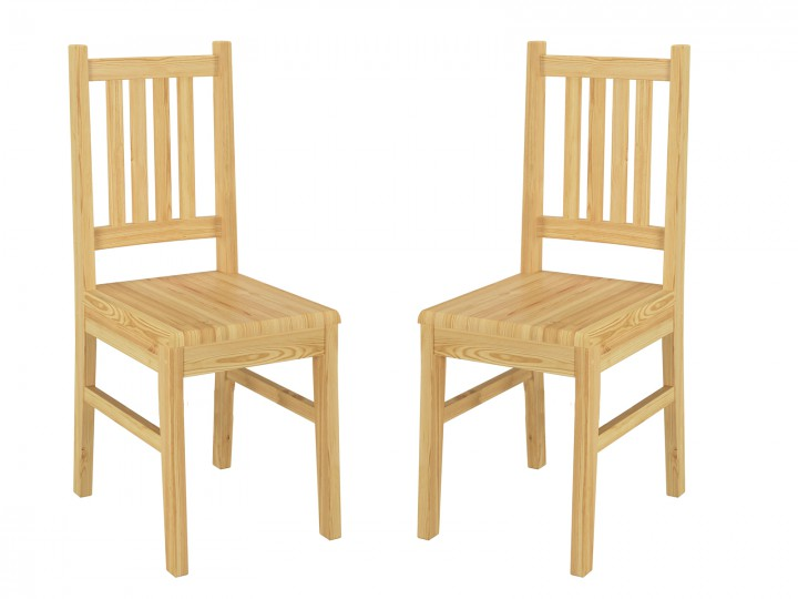 Küchenstuhl Massivholzstuhl Esszimmerstuhl Kiefer Stuhl Eris 90.71 01 2 Set