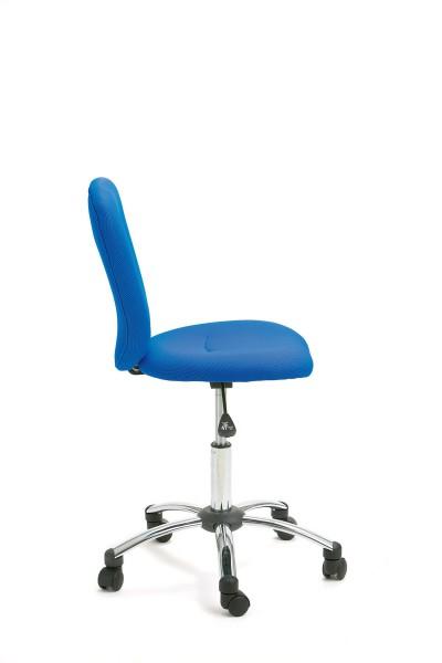 Bürostuhl Kinderstuhl 90 79 14 bürostuhl kinderstuhl schreibtischstuhl als drehstuhl blau