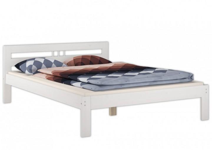 doppelbett kiefer massiv wei 140x200 rollrost matratze nachttisch futonbett w m k5. Black Bedroom Furniture Sets. Home Design Ideas