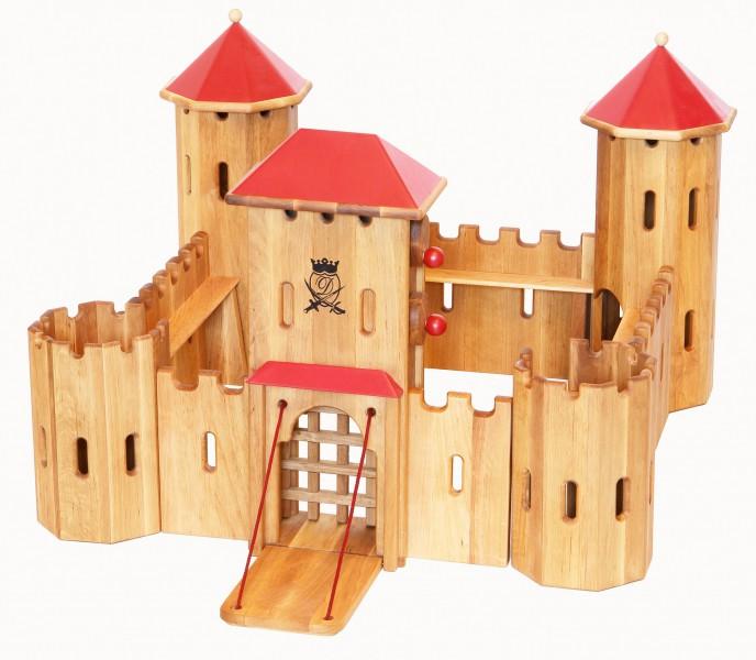 931 240 Ritterburg Aus Holz Burg Fa Drewart