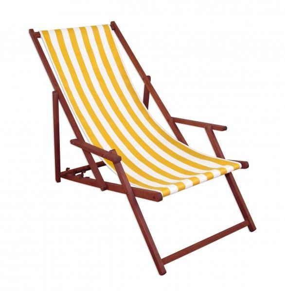 gartenliege buche gelb wei liegestuhl tisch deckchair holz sonnenliege relaxliege 10 319 t. Black Bedroom Furniture Sets. Home Design Ideas