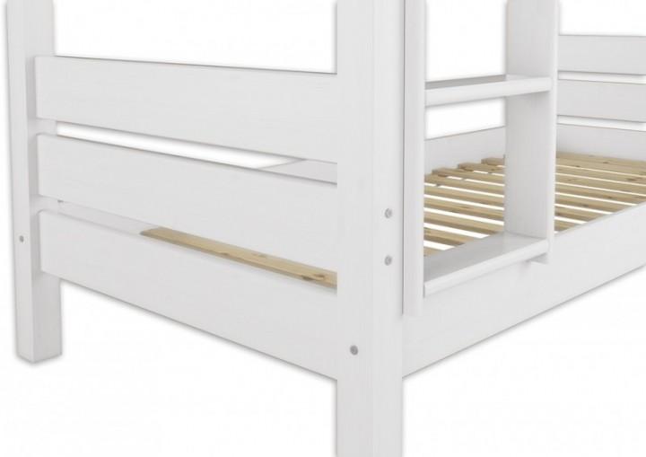 etagenbett f r erwachsene 80x200 wei nische 100 teilbar. Black Bedroom Furniture Sets. Home Design Ideas