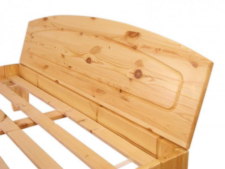 bettgestell kiefer natur massivholzbett doppelbett 140x200 futonbett ohne zubeh r or. Black Bedroom Furniture Sets. Home Design Ideas