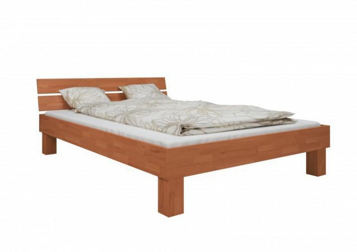 d m bett massivholz 140x200 cm buche leicht. Black Bedroom Furniture Sets. Home Design Ideas