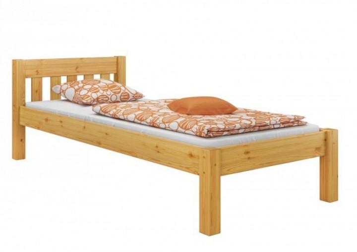 kieferbett natur einzelbett 90x200 massivholz bettgestell futonbett ohne rollrost or. Black Bedroom Furniture Sets. Home Design Ideas