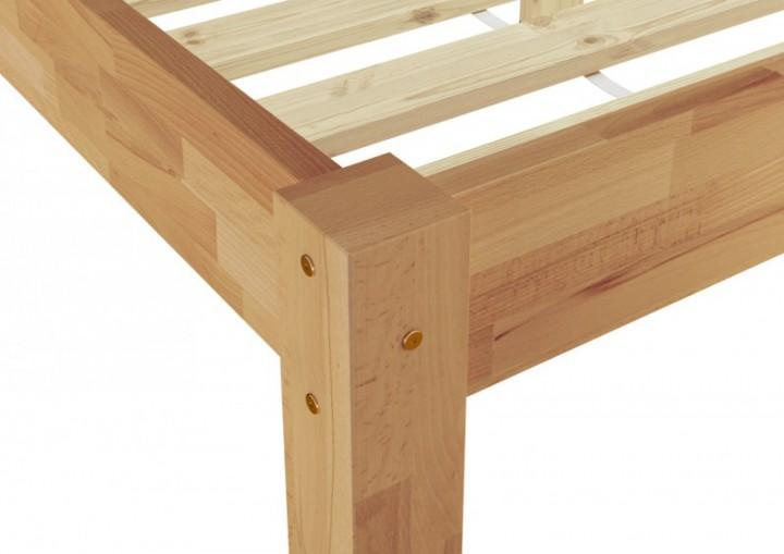 futonbett g stebett einzelbett 90x200 massivholzbett buche natur ohne zubeh r or. Black Bedroom Furniture Sets. Home Design Ideas
