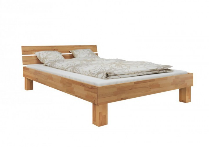 einzelbett futonbett 120x200 buchebett massivholz natur. Black Bedroom Furniture Sets. Home Design Ideas
