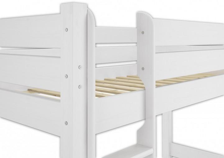 Etagenbett Weiß 90x200 : Hochbett holz 90x200. cool x cm mit sonoma eiche weiss