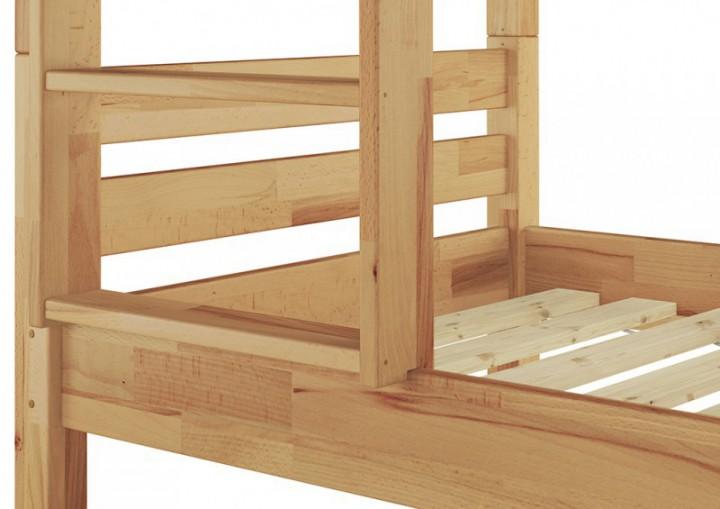 etagenbett massivholz buche natur 90x200 stockbett rollrost matratzen hochbett m. Black Bedroom Furniture Sets. Home Design Ideas